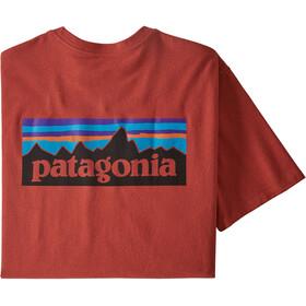 Patagonia P-6 Logo Responsibili-Tee Men, hot ember